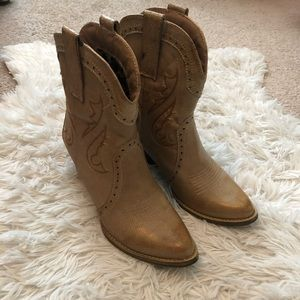 Cowgirl booties